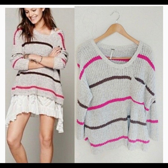 Free People Slouchy Oversized Sweater